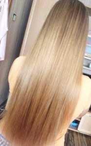 средство для волос для блеска