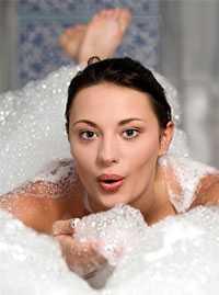 пена для ванны натуральная